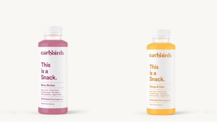 Earlybirds snacking drink will launch a 100% plant-based packaging with sugarcane lid next month.The nutritious snack or breakfast drink first came to market in late 2019 launching in selected Sainsbury's stores on August 19, 2019.High-fibreThe drinks con